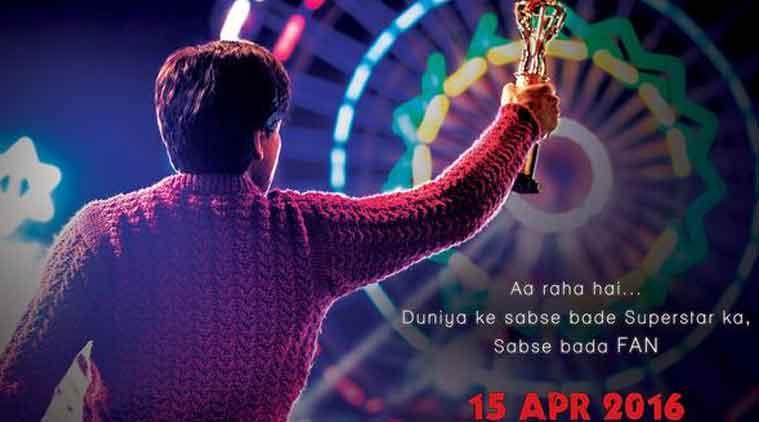"""在""""粉丝""""的团队看着这部电影后,Shah Rukh Khan不堪重负"""