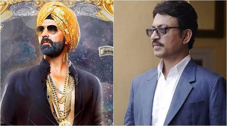 Akshay Kumar的'Singh是Bliing'在第二天下降,'塔尔瓦尔'由于嘴巴良好而升级