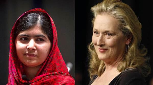 Malala Yousafzai激发了Meryl Streep