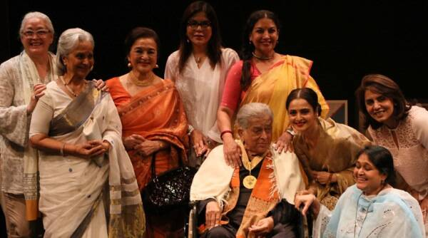 少年成就奖jagran电影节的Shashi Kapoor