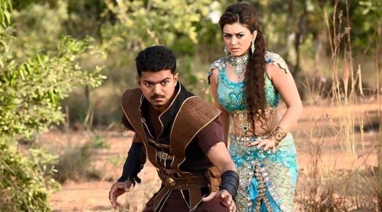 所有问题排序,现在是Vijay Starrer Tamil Movie'Puli'的showtime