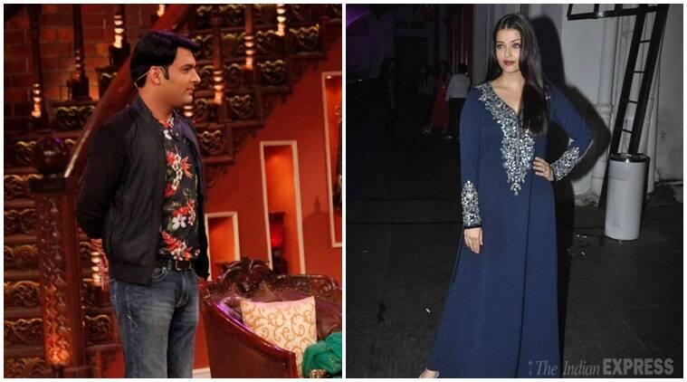 Aishwarya Rai Bachchan出现在Kapil Sharma的'与Kapil的喜剧之夜'