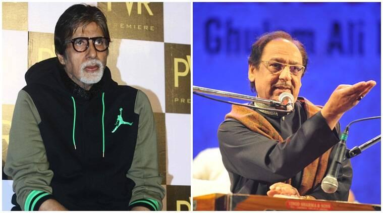 Ghulam Ali问题是政治目的,Amitabh Bachchan说