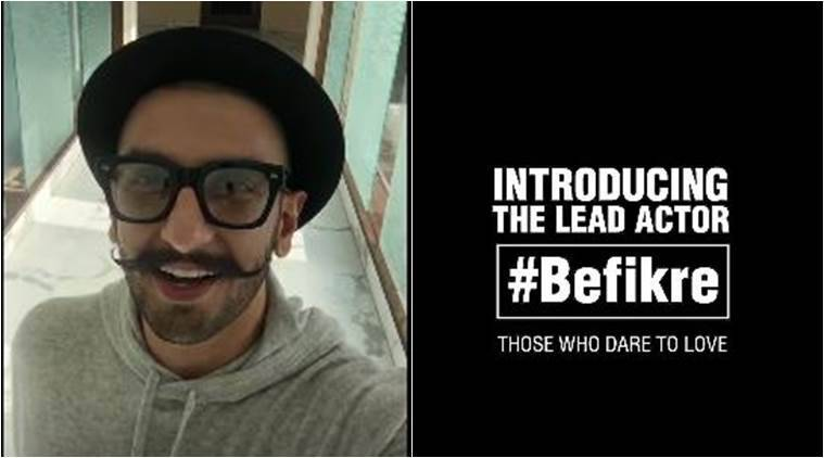 Ranveer Singh将在Aditya Chopra的寄生'Befikre'中发挥领导