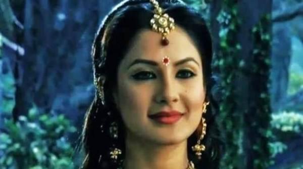 Pooja Banerjee将巫婆的头像为'Qubool Hai'