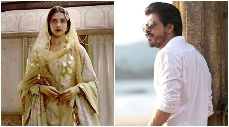 Deepika Padukone不同意Shah Rukh Khan致电Bajirao Mastani Niche