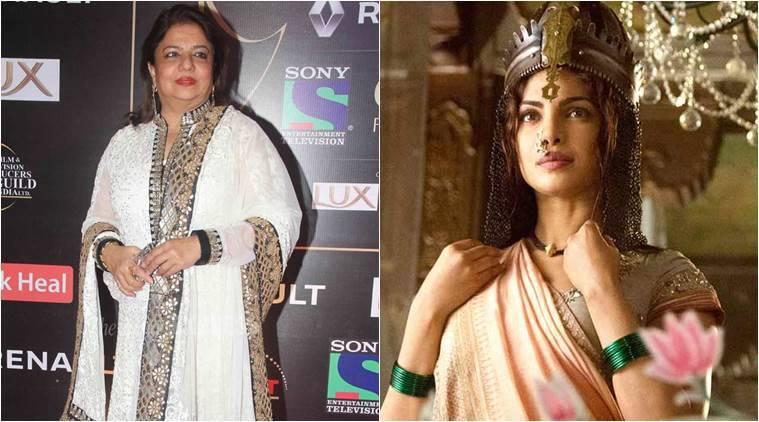 妈妈Madhu为Priyanka Chopra感到骄傲