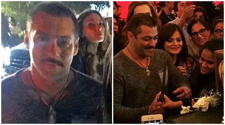 Salman Khan戒指在他50岁生日与传闻女友Iulia Vantur