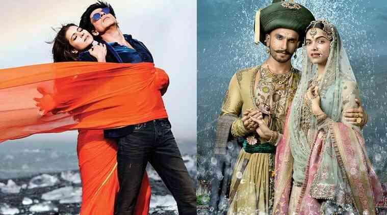 Dilwale,Bajiroao Mastani:SRK-Kajol,Deepika-Ranveer的电影是今天的巨型版本
