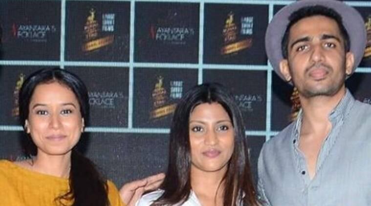 Tillotama Shome,Gulshan Devaiah在Konkona Sen Sharma的董事会中玩夫妇,枪战中的死亡