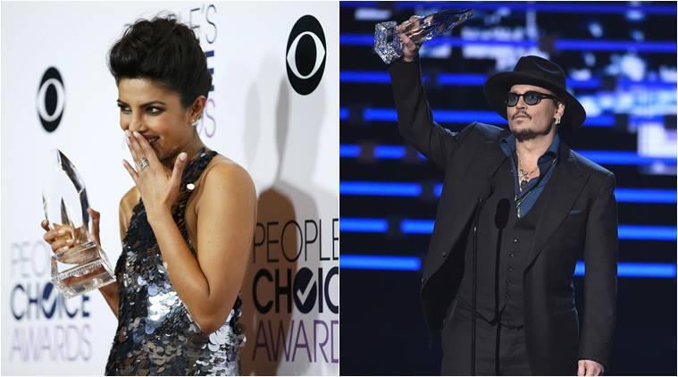 Priyanka Chopra,Johnny Depp:2016年人民选择奖项的大奖赛