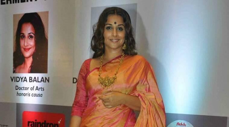 Vidya Balan住院治疗疑似肾结石,取消了她的新年计划