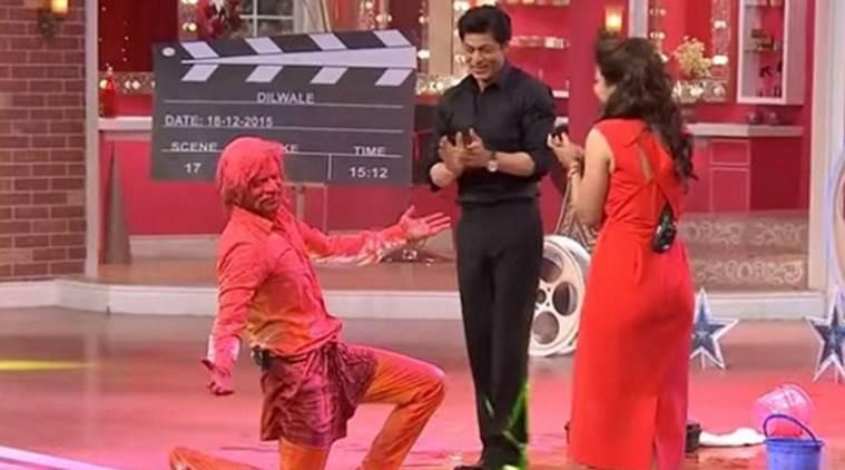在Kapil's Great时刻,表演'Gerua'对'喜剧之夜采取行动:Sunil Grover.
