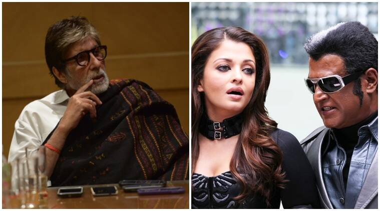 Rajinikanth告诉我不要在'机器人'中打恶棍:amitabh bachchan.