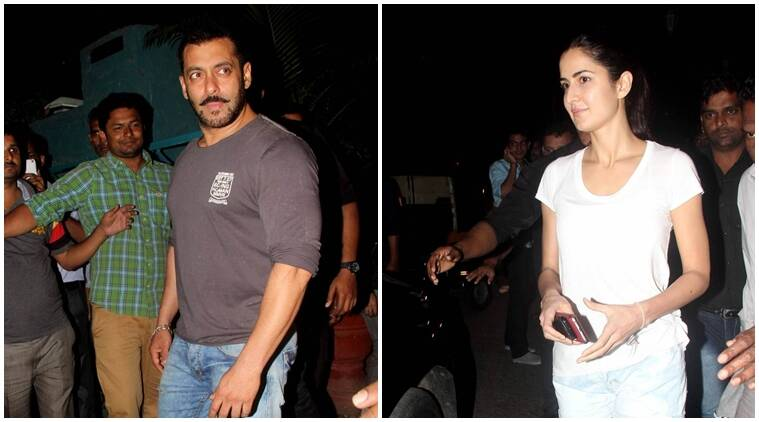 Katrina Kaif与前男友Salman Khan发现了据说谣言与Ranbir Kapoor