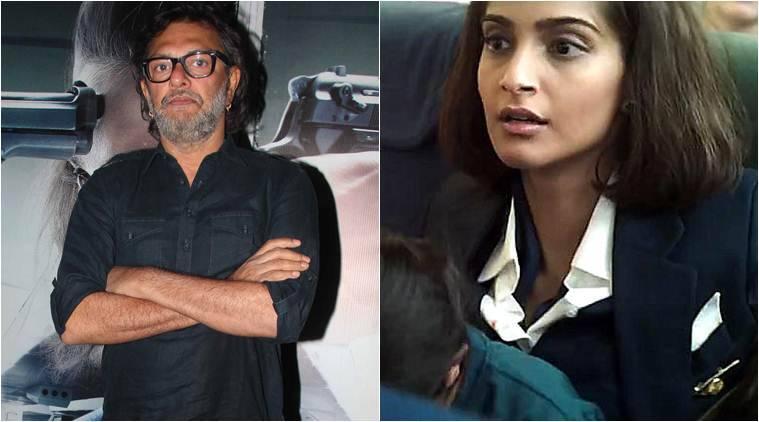 """与""""Neerja""""Sonam Kapoor可能会发现自己:Rakeysh Omprakash Mehra."""