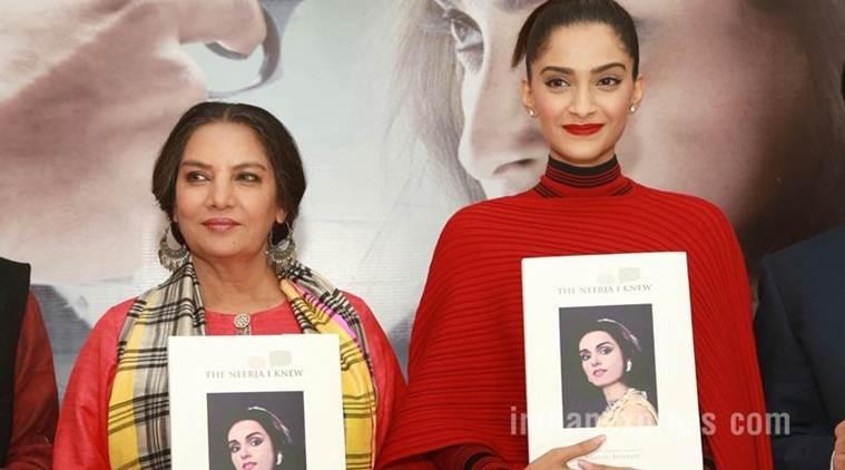 """我对空姐的尊重增加了""""Neerja""""的帖子:Sonam Kapoor."""