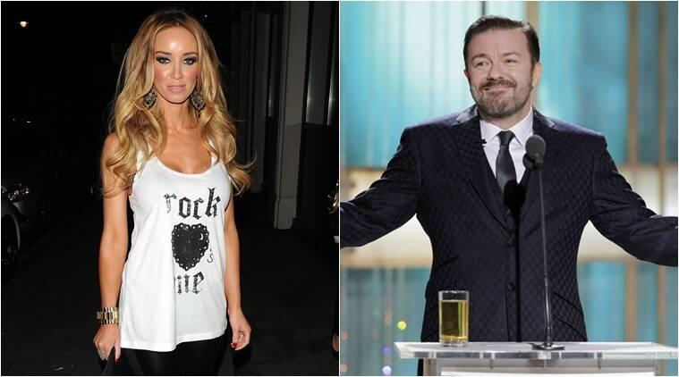 Lauren Pope在Ricky Gervais上迷恋