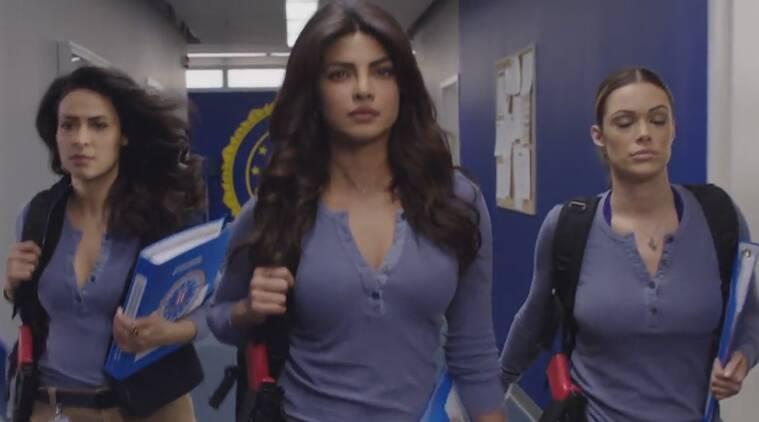 Priyanka Chopra承诺行动,'Quantico'的欺骗