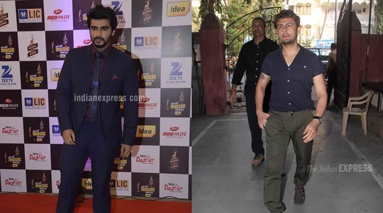 Arjun Kapoor希望Sonu Nigam成为他的声音