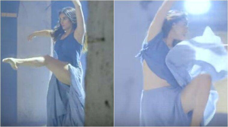 Aditi Rao Hydari拍摄了在线舞蹈视频,庆祝女性,观看视频