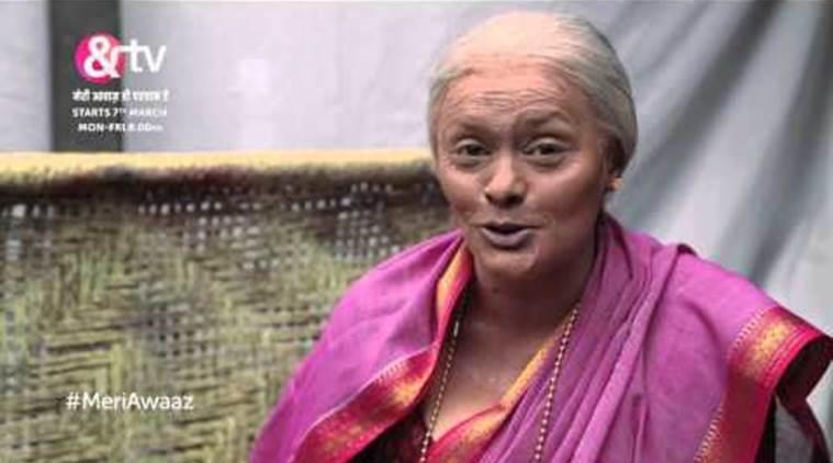 """Pallavi Joshi优雅需要六个小时的""""年龄"""""""