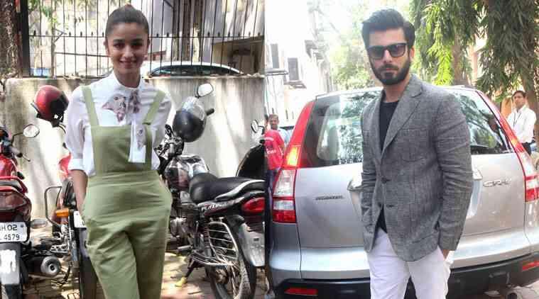 Fawad Khan在Kapoor和Sons Sets上抓住了Alia Bhatt
