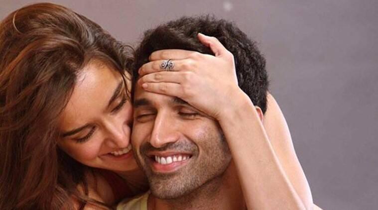 Shraddha Kapoor,Aditya Roy Kapur舒适'OK Jaanu'首先看