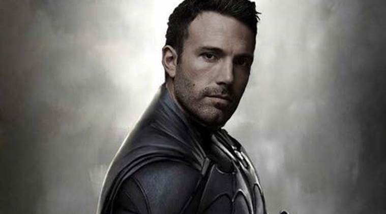 Ben Affleck扮演着儿子生日的蝙蝠侠